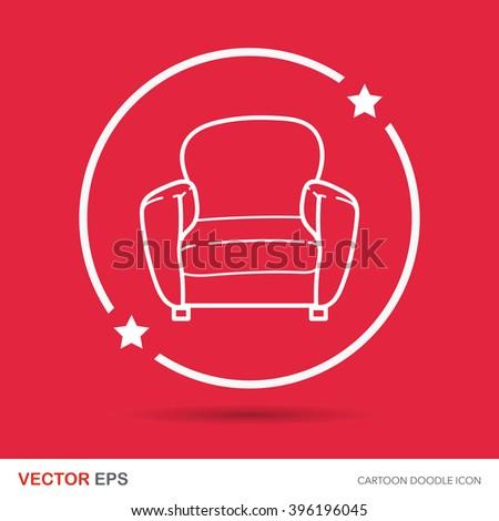 chair sofa doodle
