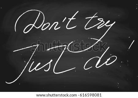 chalk phrase chalkboard