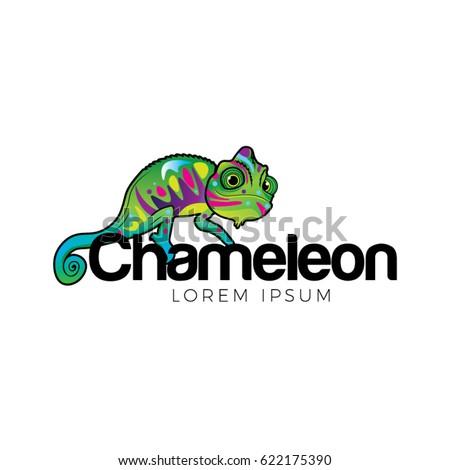 chameleon logo symbol icon