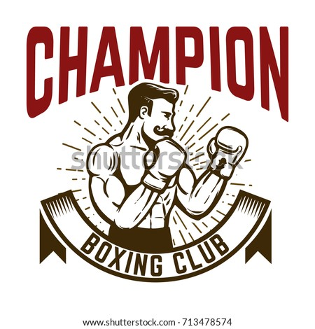champion boxing club vintage