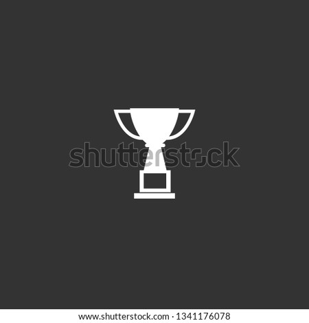 champions cup icon vector. champions cup vector graphic illustration