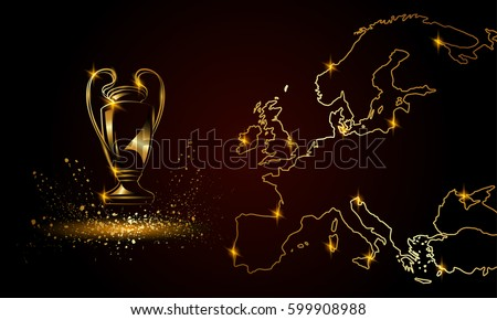 champions cup with a linear map