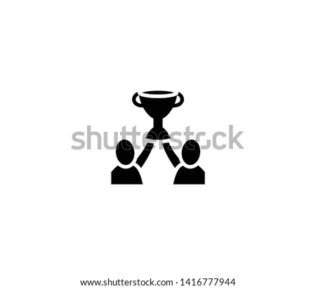Champions vector isolated flat illustration. Champions icon