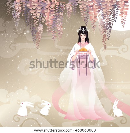 chang'e  the chinese goddess of