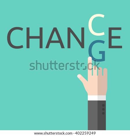 change and chance hand