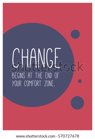 change begins at the end of