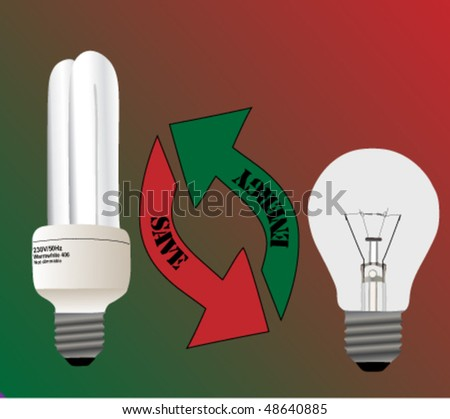 change light bulb - save energy