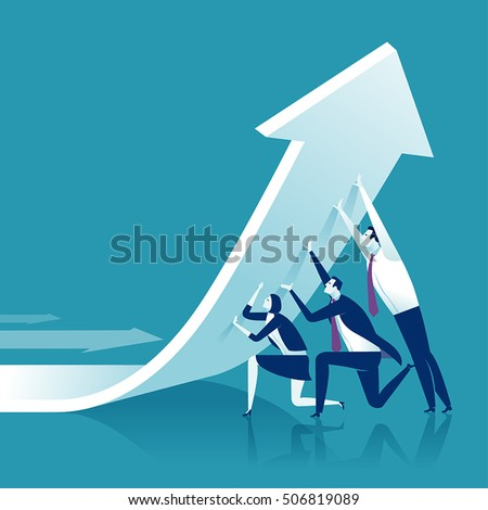 Shutterstock Change of a direction. Business concept vector illustration