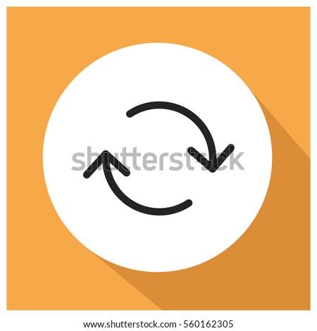 change vector icon  refresh