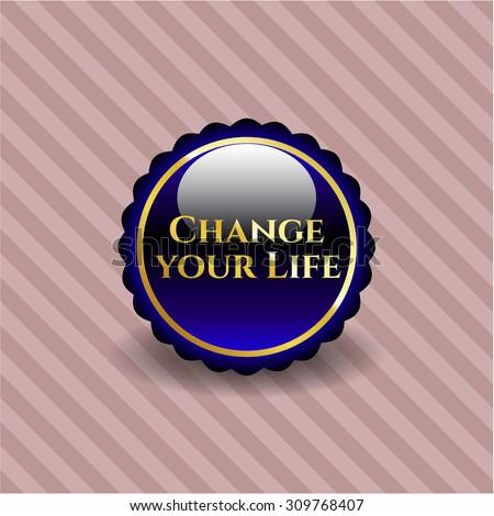 Change your Life shiny emblem