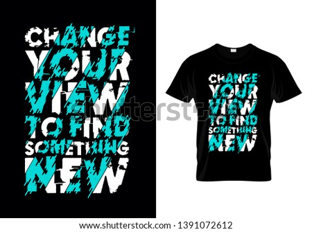 change your view to find