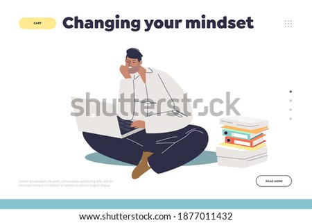 changing your mindset concept
