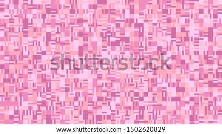 chaotic geometrical mosaic