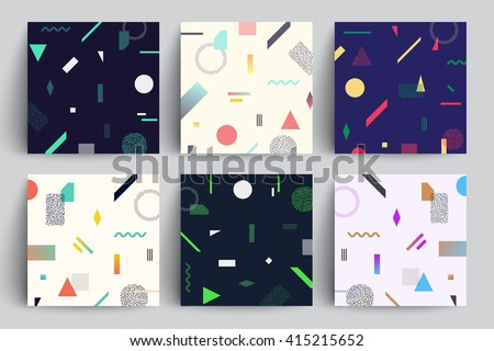 chaotic geometry backgrounds