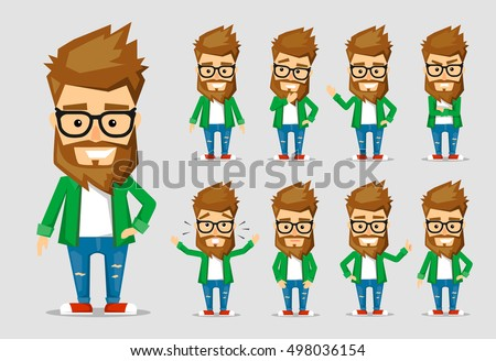 character men hipster a
