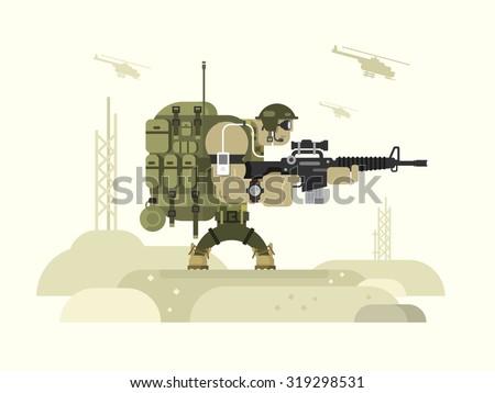 character military peacekeeper
