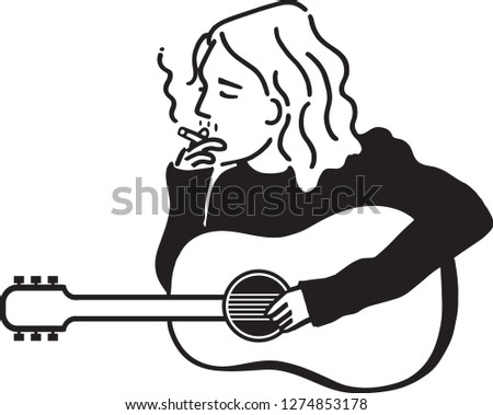character of kurt cobain