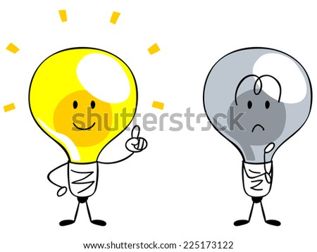 character of the light bulb