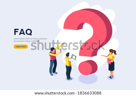 Character on research technical solution. Question information query, ask support faq, problem answer, help. Problem support, query question, technical faq to ask information or solution research info