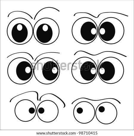 character set - eyes #98710415