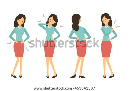character set of businesswoman