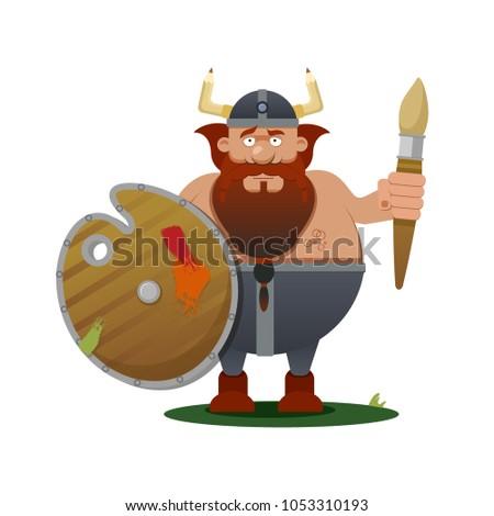 character viking artist for