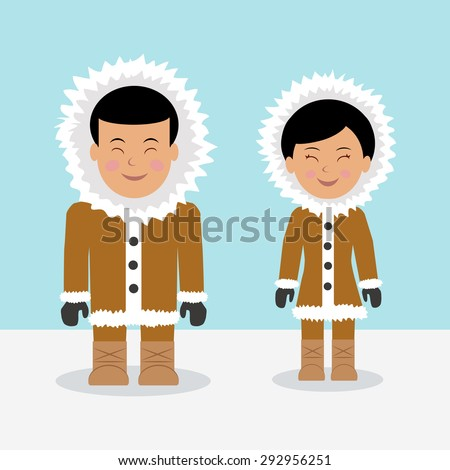characters eskimos woman and