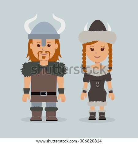 characters vikings male and