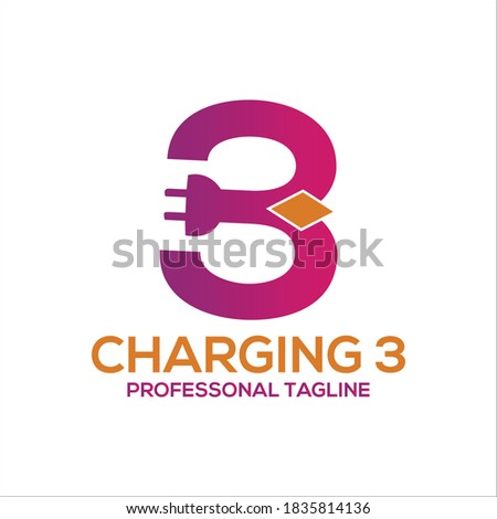 charge logo design vector