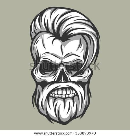 charismatic skull hipster