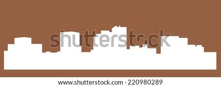 charleston city silhouette
