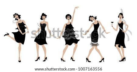 charleston partyblack dress