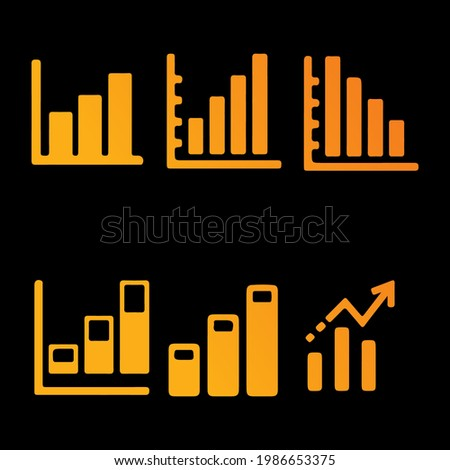 chart diagram grapich vector