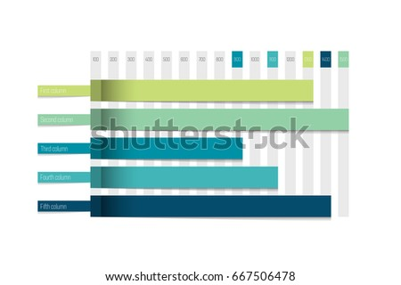 chart  graph simply color