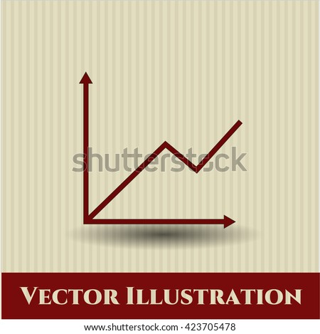 Chart icon or symbol