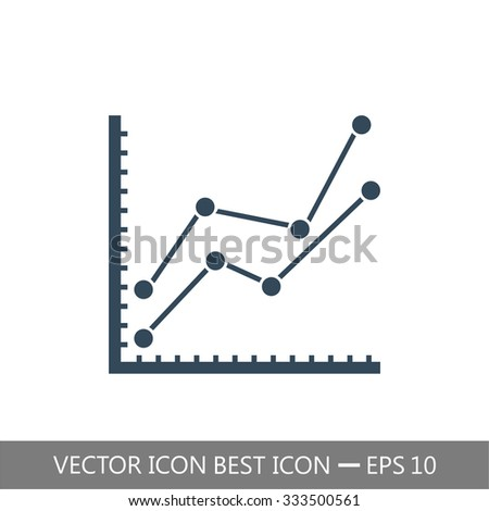 chart icon  vector  eps 10
