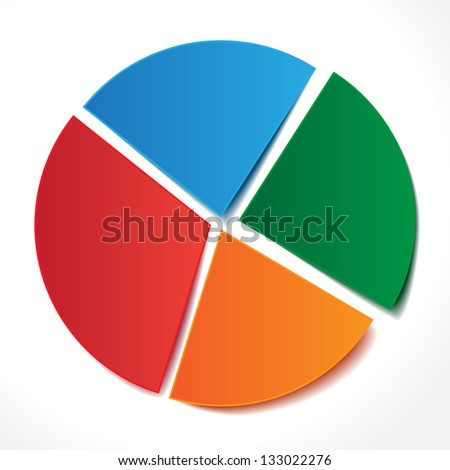 stock-vector-chart-of-red-blue-orange-green-stickers