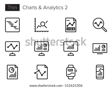 charts and analytics line