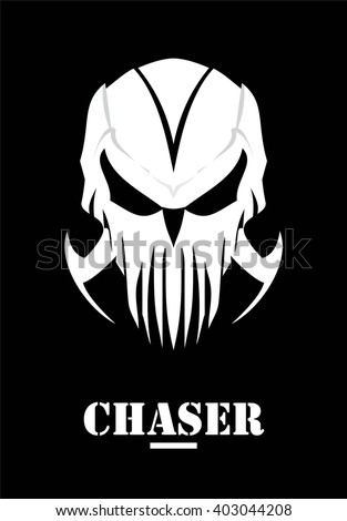 chaser hunter skull with claw