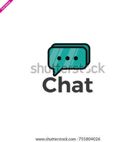Chat app logo. apps logo. Typing in a chat bubble icon illustration isolated vector, comment sign symbol	 Typing in a chat bubble icon illustration isolated vector. chat icon vector