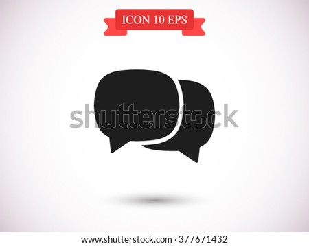 chat icon  chat icon eps 10