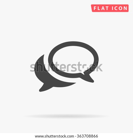 chat icon chat icon vector