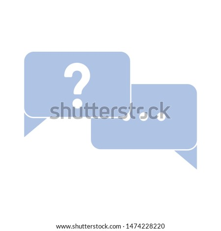 chat icon. flat illustration of chat vector icon. chat sign symbol