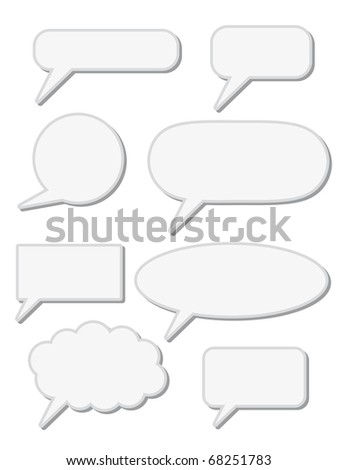 chat speech sign