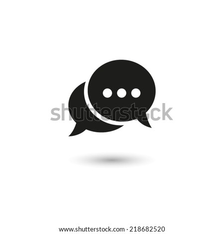 Chat - vector icon