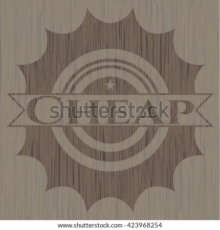 Cheap wood signboards