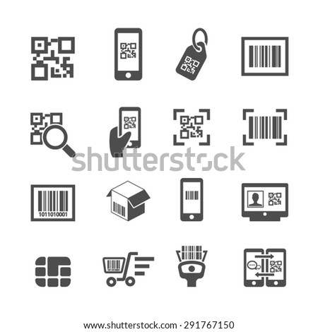 Check code Icons, Vector