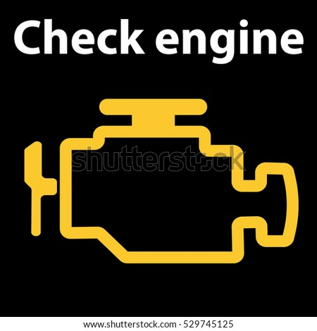 Royalty Free Stock Photos And Images Check Engine Icon Warning - Car image sign of dashboarddashboard warning lights stock images royaltyfree images