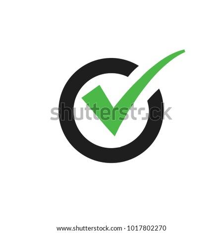 Check mark icon design
