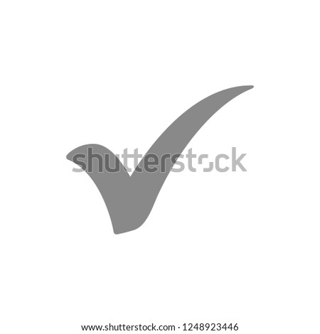 Check mark icon symbols vector. symbol for web site Computer and mobile vector.
